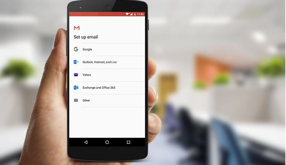 How To Add A Non-Google account to Inbox by Gmail | Mobile