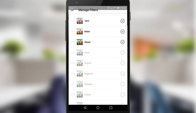 How to enable hidden Instagram filters   Mobile Internist