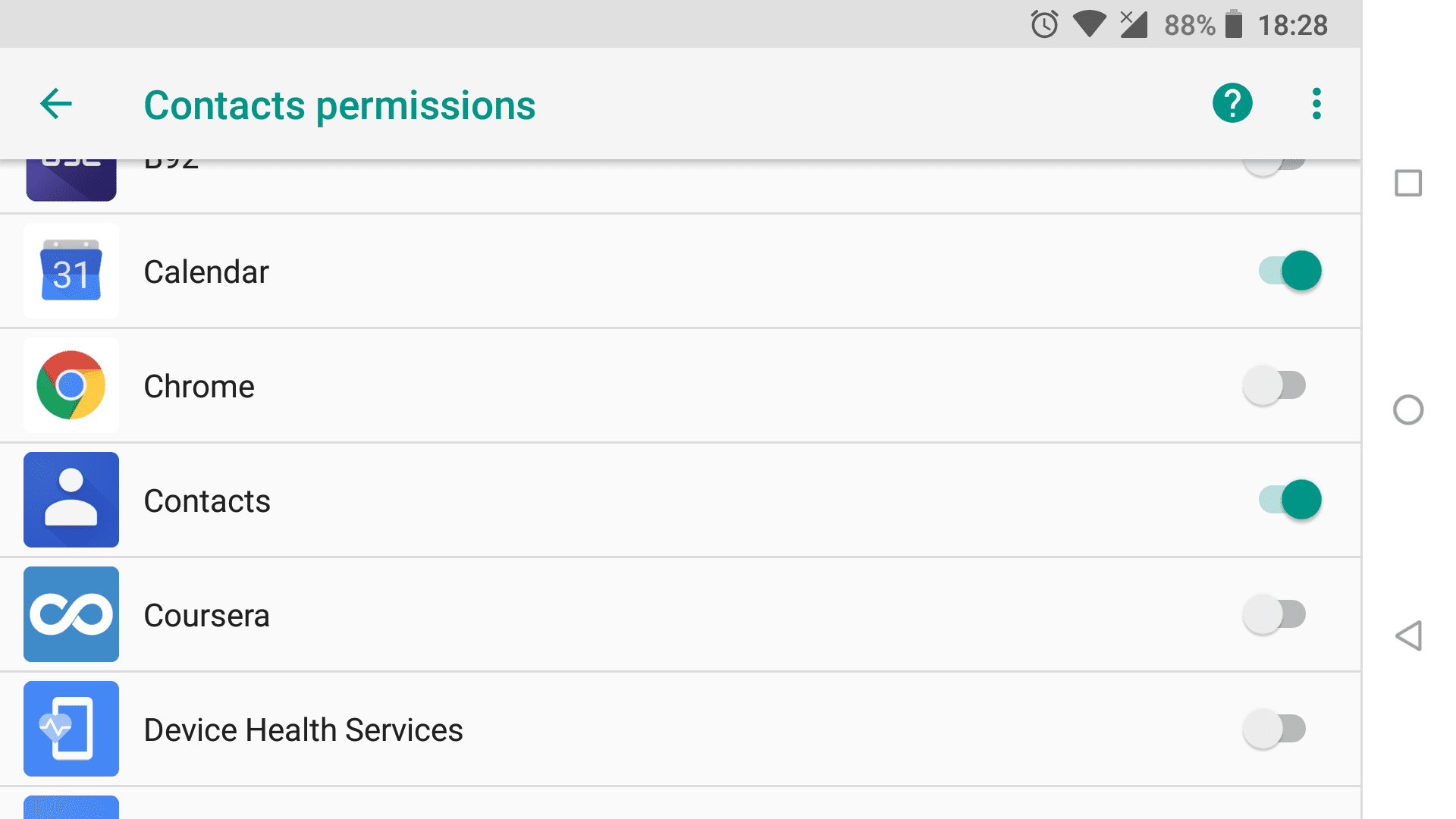 Fix: Unable to open Contacts on Android | Mobile Internist