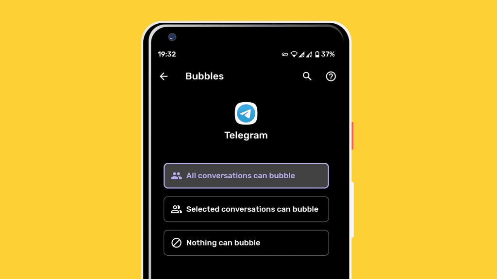 manage notifications android 11